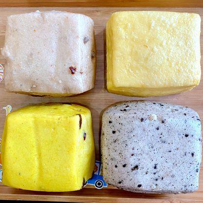 方饅頭-老闆挑(綜合-無乳酪)-素 /天然酵母/無添加/不脹氣/不胃酸