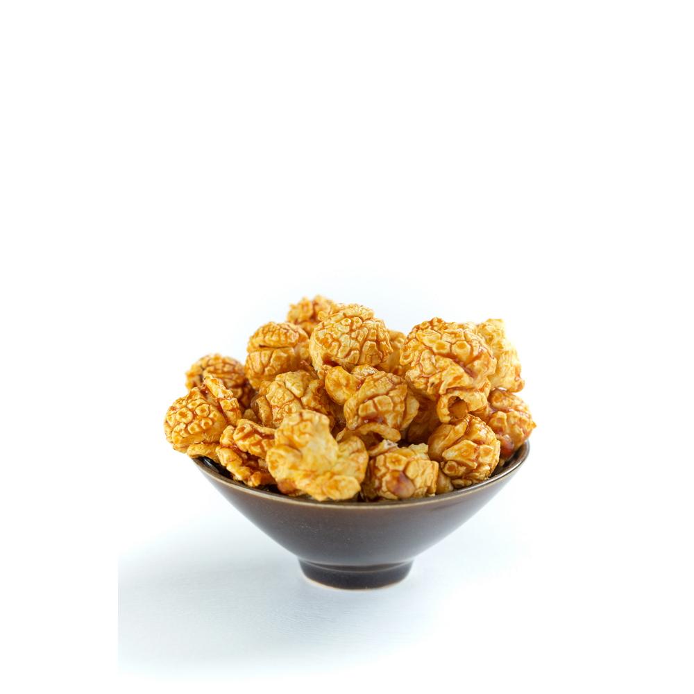 荳荳將蘑菇爆米花-分享桶-焦糖瑪奇朵(甜/素)-手炒/酥脆/非基改頂級蘑菇玉米粒