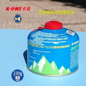 卡旺 ANYPOWER 高山 瓦斯罐 230g 商檢標T73108,攻頂爐 瓦斯燈 蜘蛛爐 飛碟爐適用
