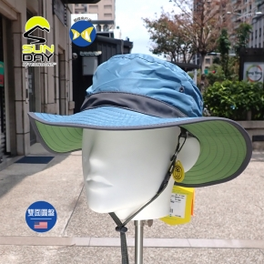 [美國 Sunday Afternoons ] 兒童 抗UV 雙面 圓盤帽 L號 青石 SAS2D11395B