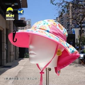 [美國 Sunday Afternoons ] 兒童 抗UV防潑透氣 護頸帽 蜂蝶爭艷 S2D01061