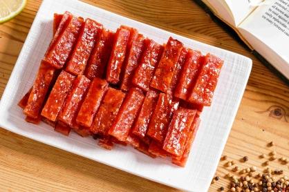 原味厚片肉乾