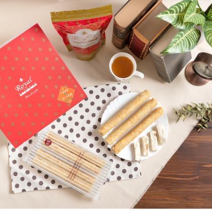 幸福禮盒-可口蛋捲/杏仁牛軋糖(常溫商品)