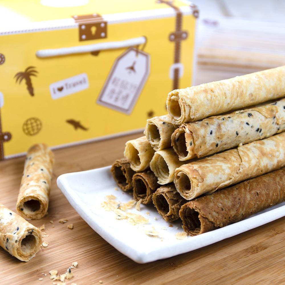 皇室手工蛋捲禮盒-楓糖(常溫商品)