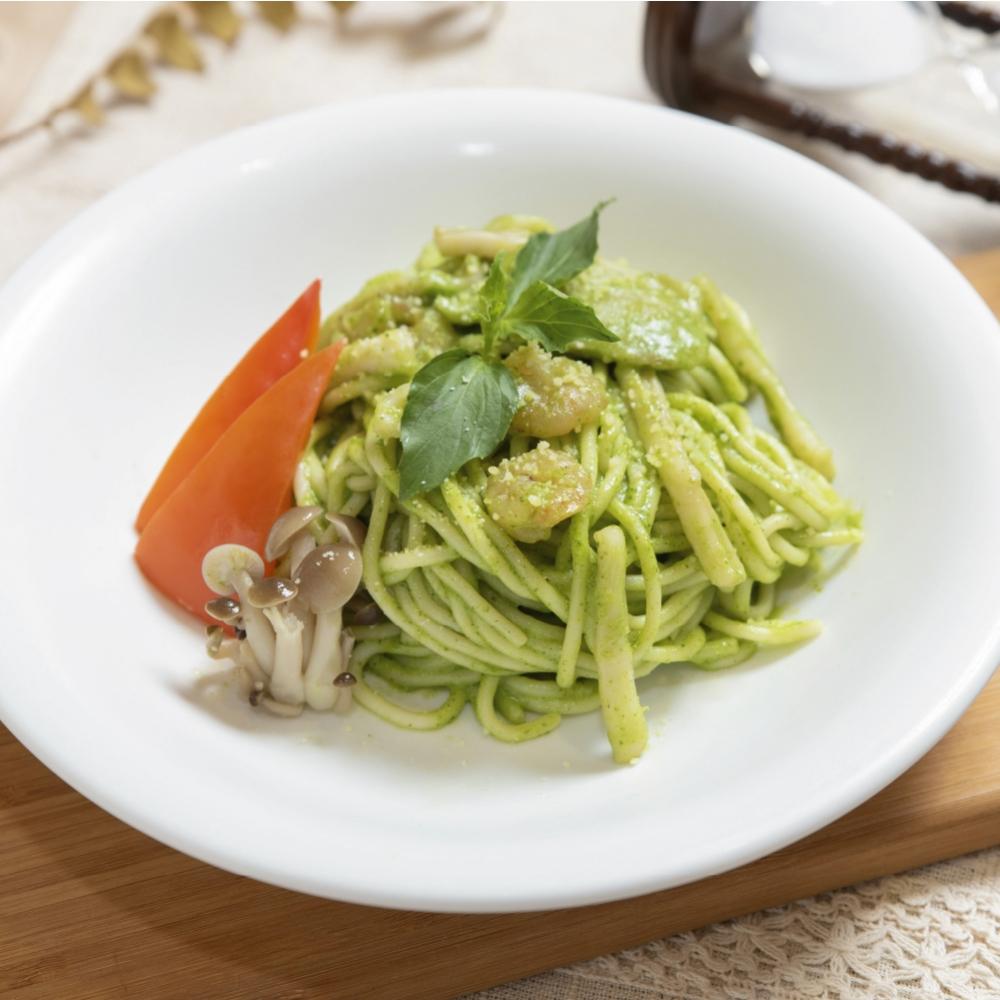 青醬海鮮義大利麵(6入,冷凍包裝)