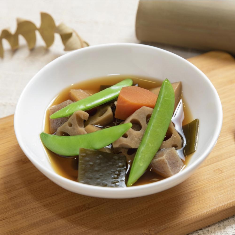 關東素味昆布煮(6入,冷凍包裝)