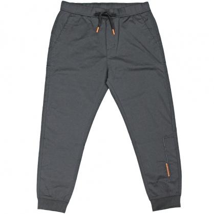 091822輕薄素面彈性抽繩全羅紋縮口褲-091822輕薄素面彈性抽繩全羅紋縮口褲-黑色