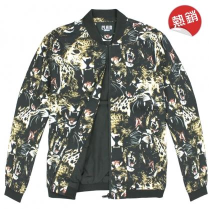082510滿版數碼印花美洲豹風格外套