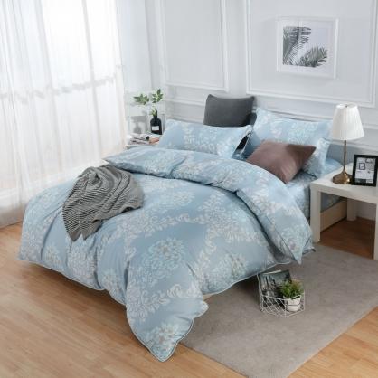 野媚風束蘇丹棉兩用被床包組-雙人