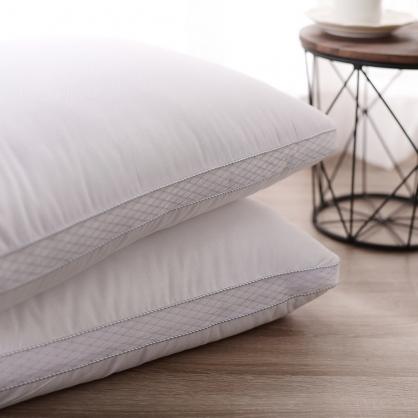 立體羽絲絨枕(兩入組)