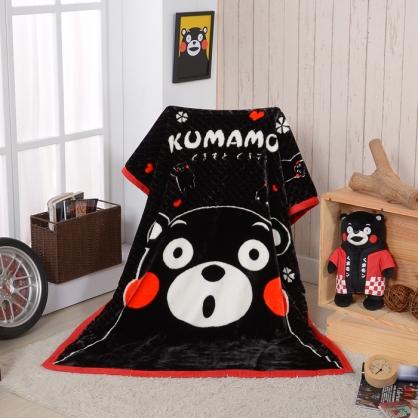 【KUMAMO】讚嘆KUMA頂級加厚法蘭絨休閒毯