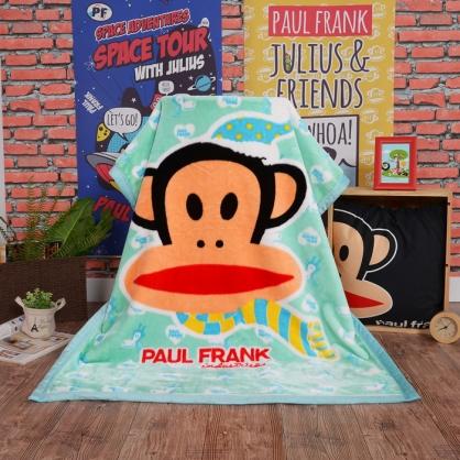【大嘴猴】水漾青春頂級加厚法蘭絨休閒毯