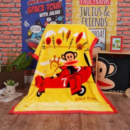 【大嘴猴】環遊世界頂級加厚法蘭絨休閒毯