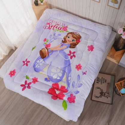 【Disney】公主傳奇法蘭絨暖暖被
