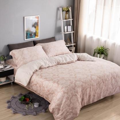 索西米拉40支紗天絲兩用被床包組-特大