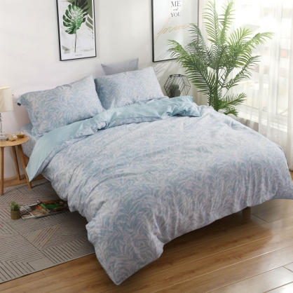清心普羅40支紗天絲兩用被床包組-雙人