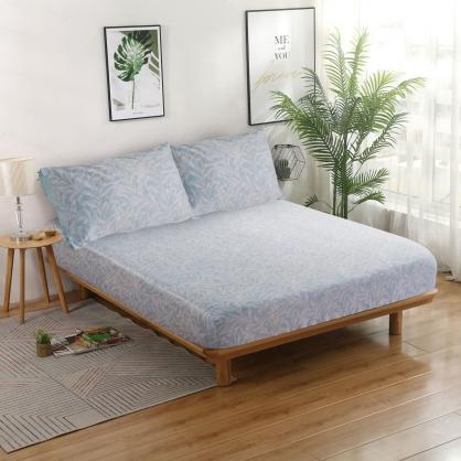 清心普羅40支紗天絲三件式床包組-加大