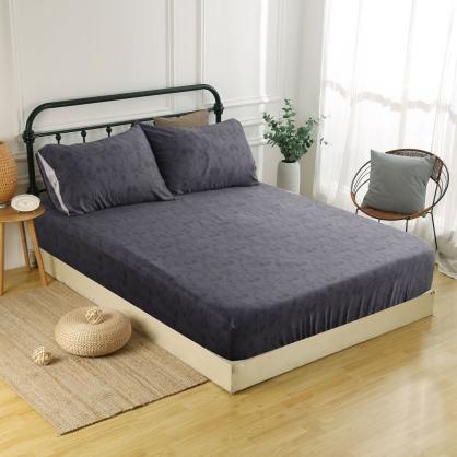 喀爾維亞60支紗天絲三件式床包組-加大