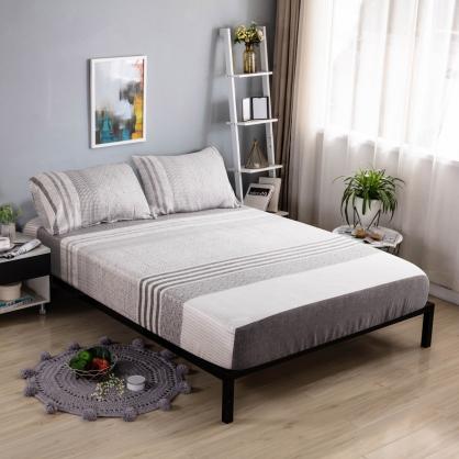 默多里達60支紗天絲三件式床包組-雙人