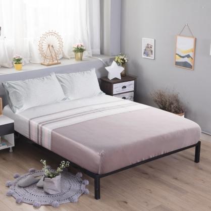 西多諾亞60支紗天絲三件式床包組-雙人