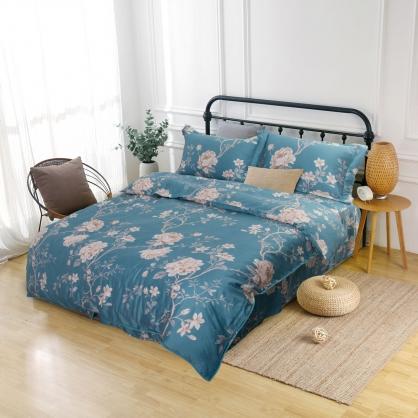 碧水姿彩60支紗萊賽爾天絲床罩組-特大