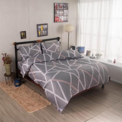 馬德里街舒爽天絲兩用被鋪棉床包組-雙人
