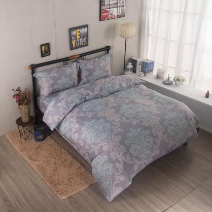 雅序皇宮舒爽天絲兩用被鋪棉床包組-雙人