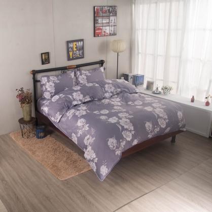 阿拉蕾朵舒爽天絲兩用被鋪棉床包組-加大