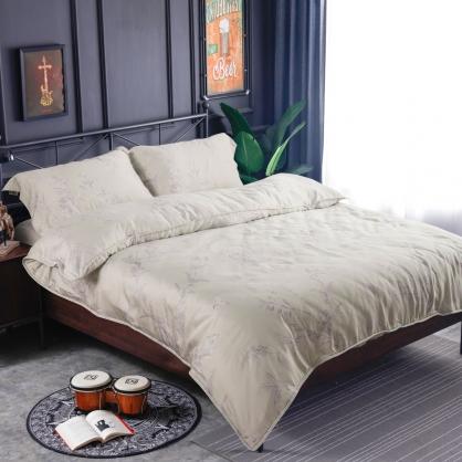 隨芳末然60支紗天絲兩用被鋪棉床包組-加大