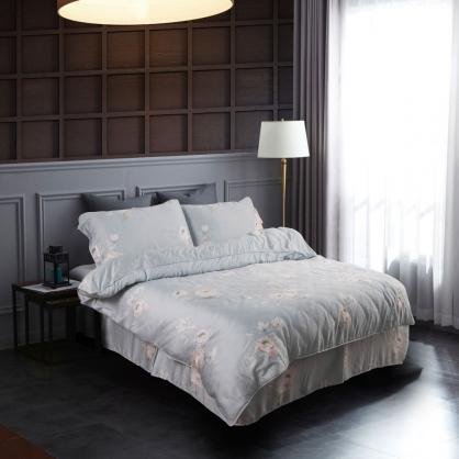 郁坊夢眠60支紗萊賽爾天絲床罩組-雙人