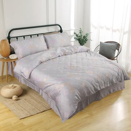 繡夜梓蘭60支紗萊賽爾天絲床罩組-雙人