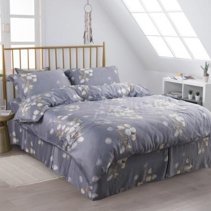 凌波宕漾60支紗萊賽爾天絲床罩組-特大