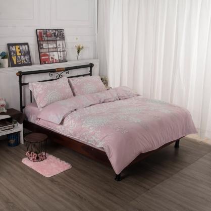 夢想時光舒爽天絲兩用被鋪棉床包組-特大