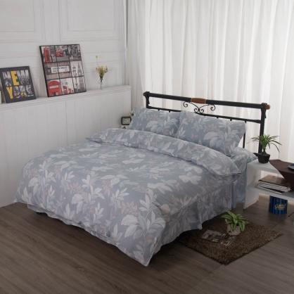 淺隱遍遍舒爽天絲床罩組-特大