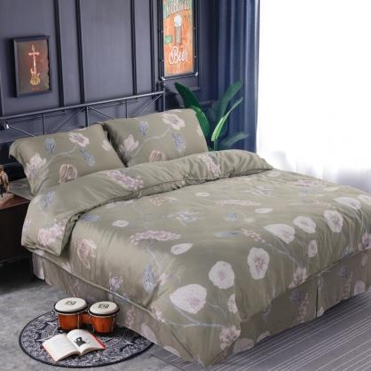 普菲希諾60支紗萊賽爾天絲床罩組-雙人