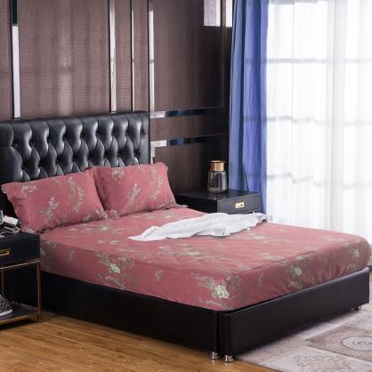 莫蘭添錦100%帝王棉三件式床包組-雙人