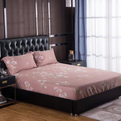 莫蓮悅露100%帝王棉三件式床包組-雙人