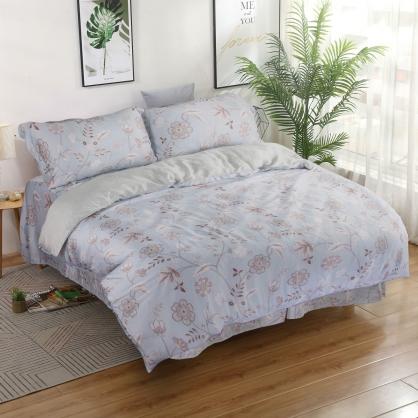 朵朵盛情40支萊賽爾天絲四件式床罩組-雙人