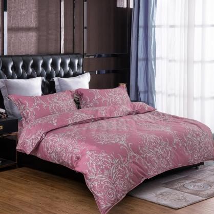 朵斯莉蒂100%帝王棉四件式兩用被床包組-特大