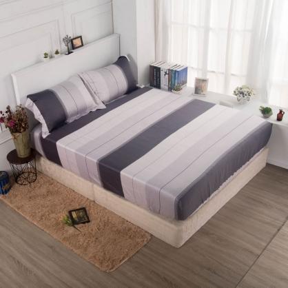 凌默西卡60支紗天絲三件式床包組-雙人
