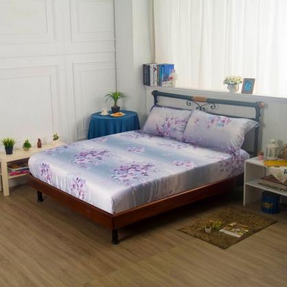 愛如潮水40支紗天絲三件式床包組-雙人