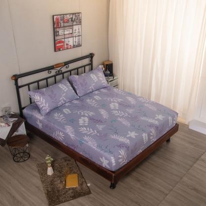 紫煙風享舒爽天絲三件式床包組-單人