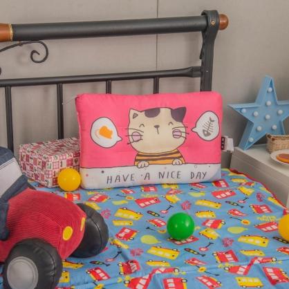 幸福日子天絲兒童水洗枕