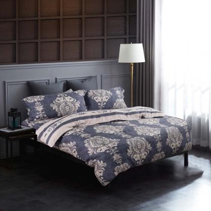 低奢呈現80支紗萊賽爾天絲兩用被床包組-加大