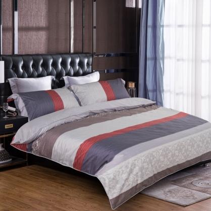 希特普菲100%帝王棉四件式兩用被鋪棉床包組-加大