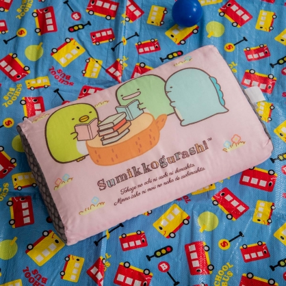 愛好閱讀平面天絲兒童水洗枕