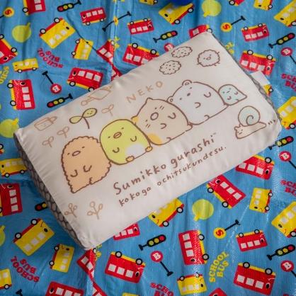 慵懶愛睏平面天絲兒童水洗枕