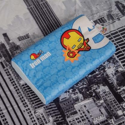 超人聯盟兒童護頸乳膠枕
