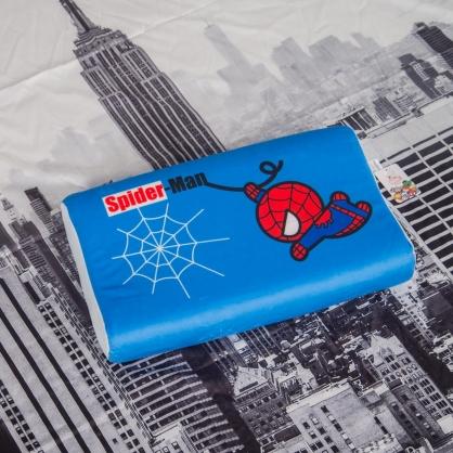 蜘蛛飛人兒童護頸乳膠枕