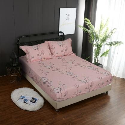 粉色夢境蘇丹棉兩用被鋪棉床包組-雙人